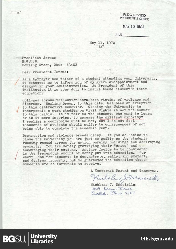 Letter from nichloas j massiello to bgsu president william t download pdf thecheapjerseys Choice Image