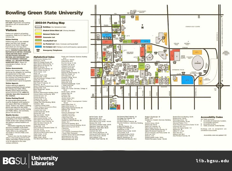bgsu campus map   Lara.expolicenciaslatam.co