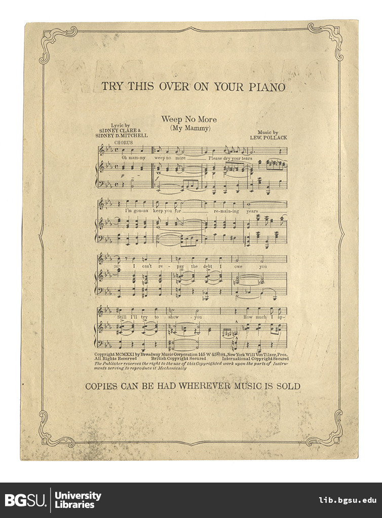 dapper dan    words by lew brown music by albert von tilzer